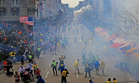 [Photo of the Boston Marathon Bombing]