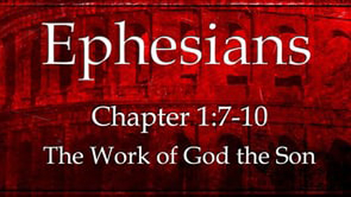 [Photo of Scripture verse title slide]