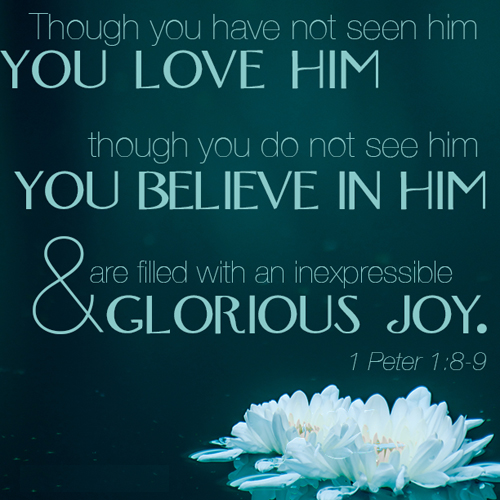 [Photo of a Scripture verse]