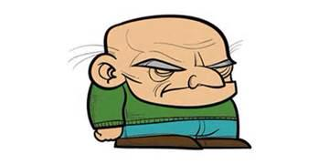 [Cartoon image of a mean old manb]
